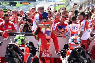 Андреа Ианноне и Луиджи Даллинья, Ред Булл Ринг, Гран-При Австрии
