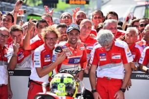 Андреа Ианноне, Даллинья, Ducati, Ред Булл Ринг, Гран-При Австрии