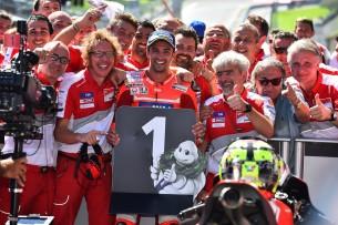 Андреа Ианноне, Луиджи Даллинья, Ducati, Ред Булл Ринг, Гран-При Австрии