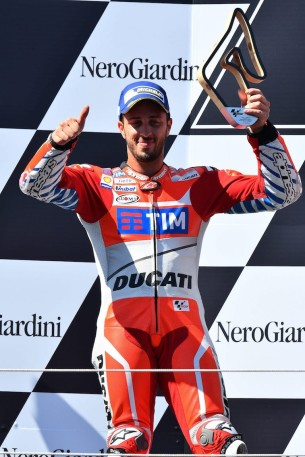 Андреа Довициозо, Ducati, Ред Булл Ринг, Гран-При Австрии
