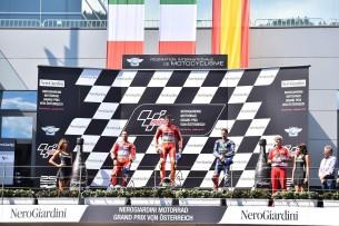 Подиум Гран-При Австрии 2016