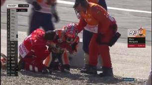 Маркес и Педроса, авария
