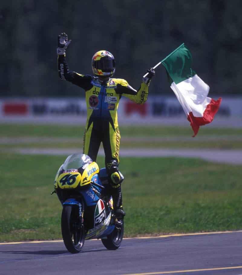 Валентино Росси, Гран-При Чехии 1996, Брно, первая победа