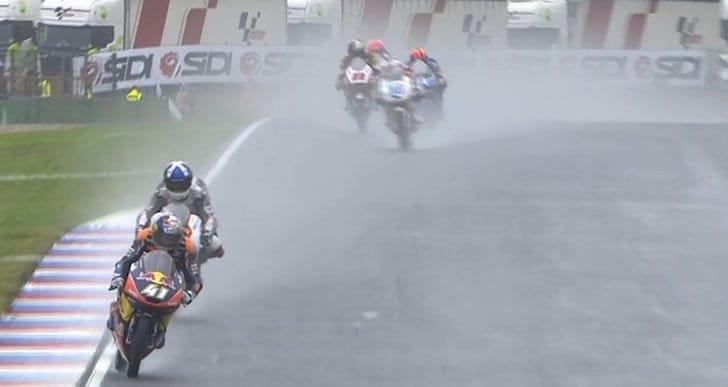 Гонка Moto3 Гран-При Чехии 2016