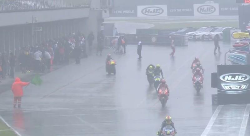Дождь, Гран-При Чехии, Брно