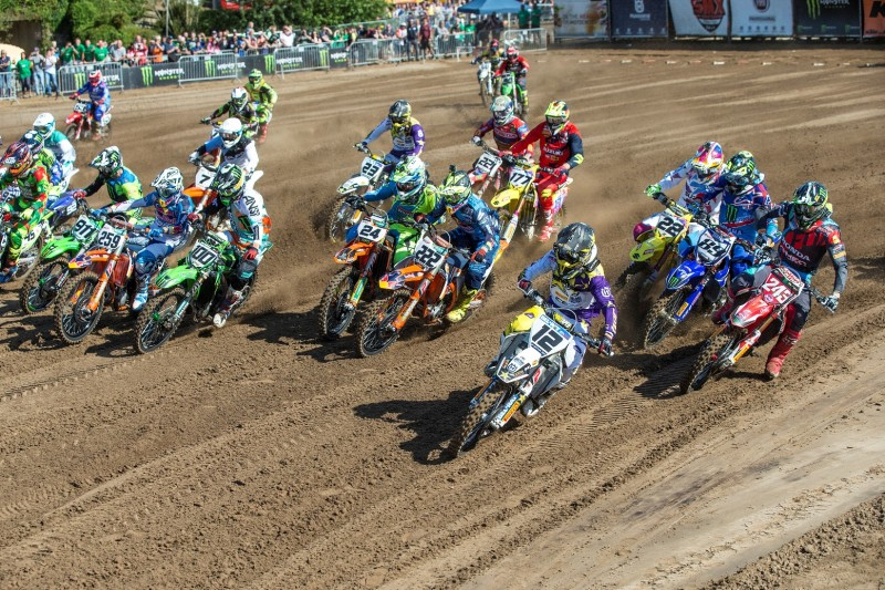 Старт гонки MXGP (2016)