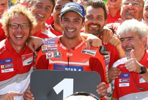 Андреа Ианноне, Ducati Team, первая победа Ducati после ухода Кейси Стоунера, Гран-При Австрии 2016