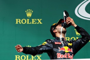 Даниэль Риккардо на Гран-При Германии 2016