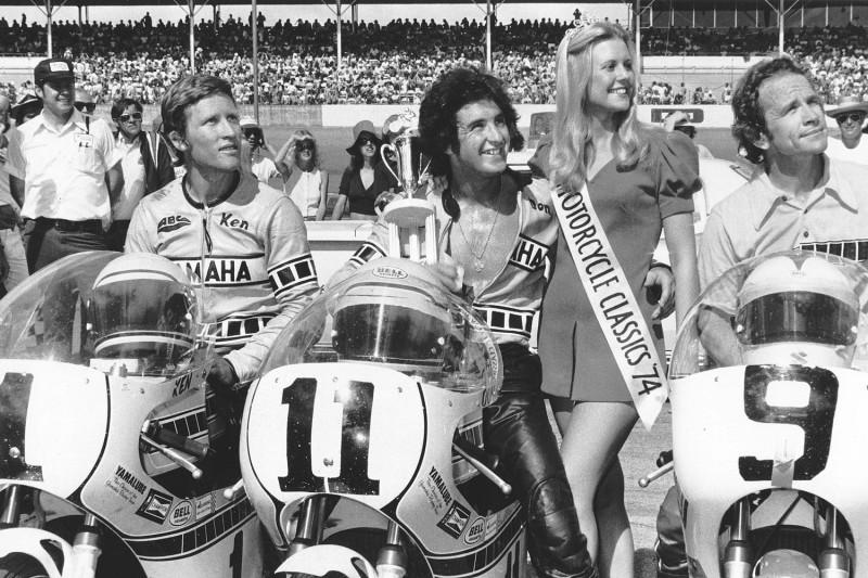 1974 Daytona 200 - Victory Lane