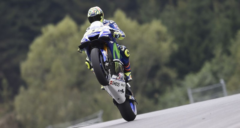 Валентино Росси, Гран-При Австрии
