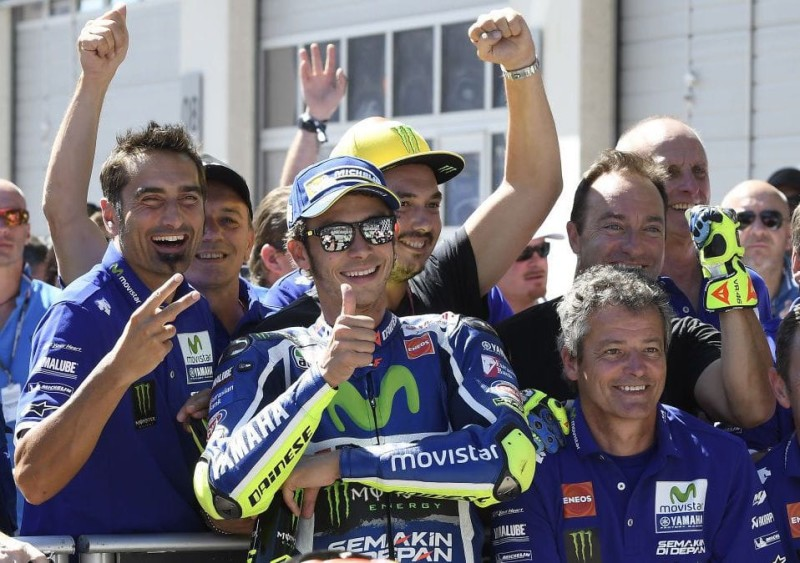 Валентино Росси, Гран-При Австрии 2016, квалификация