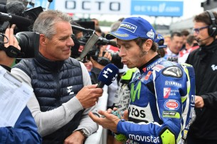 Валентино Росси, интервью 2016 12 GP UK 11595