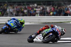 Алейш Эспаргаро и Хорхе Лоренсо 2016 12 GP UK 13964