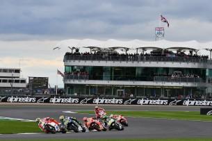 Гонка MotoGP Гран-При Великобритании 2016 12 GP UK 14319