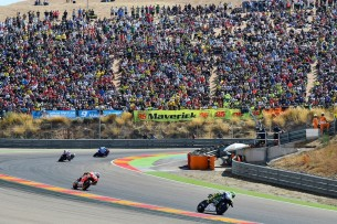 Росси, Маркес, Гран-При Арагона 2016