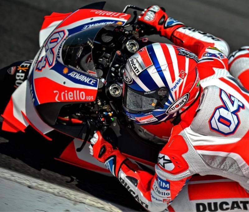 Шлем Андреа Довициозо для Гран-При Сан-Марино 2016