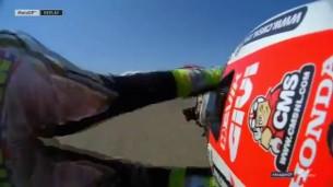 #AragonGP QP2: падение Кэла Крачлоу