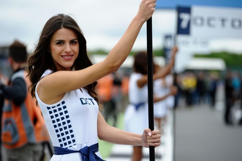 Девушки паддока, Гран-При Великобритании