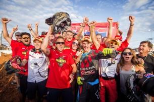 Тим Гайсер - чемпион MXGP 2016