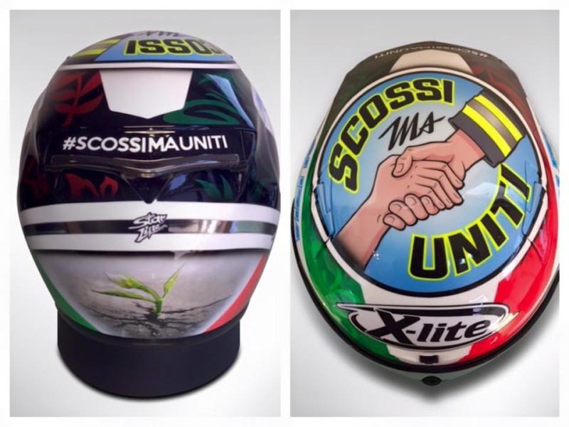 Шлем Данило Петруччи для Гран-При Сан-Марино 2016
