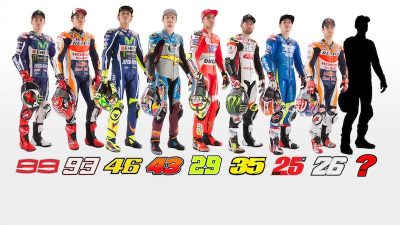 восемь победителей MotoGP 2016