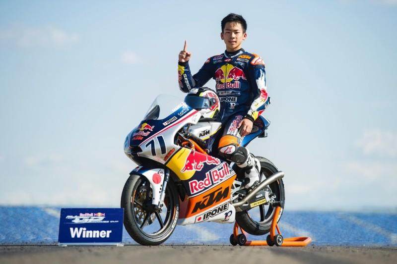 Аюму Сасаки - чемпион Red Bull Rookies Cup 2016
