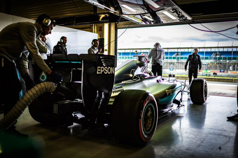 Хорхе Лоренсо протестировал формульный Mercedes