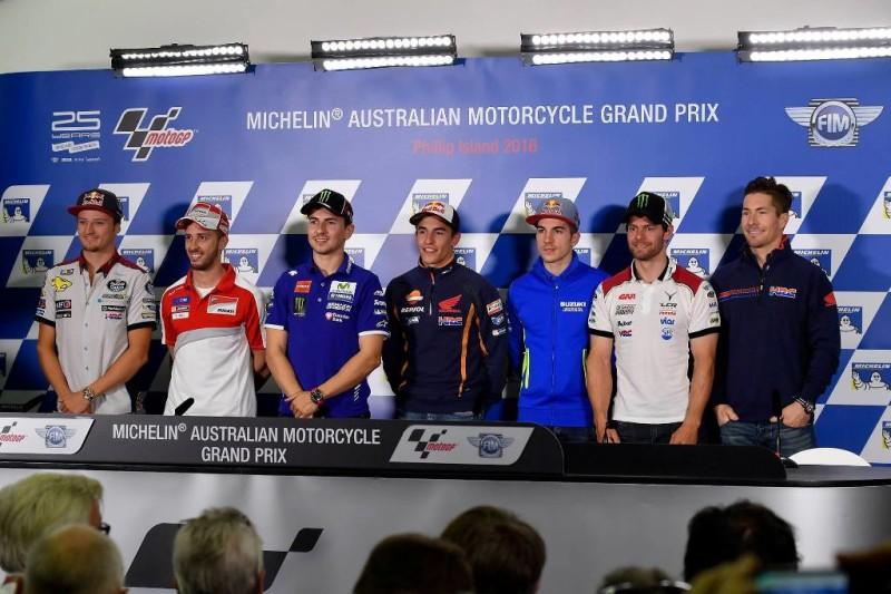 Пресс-конференция перед Гран-При Австралии 2016