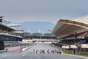 Старт гонки Гран-При Малайзии, Сепанг 2016 17 GP Malaysia 47302