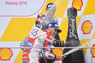 Андреа Довициозо, Хорхе Лоренсо 2016 17 GP Malaysia 47404