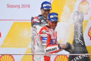 Андреа Довициозо, Хорхе Лоренсо 2016 17 GP Malaysia 47405