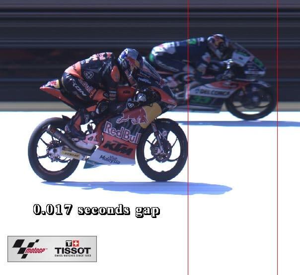 финиш в гонке Moto3 Гран-При Японии 2016