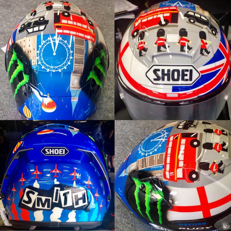 Шлем Брэдли Смита для Гран-При Японии 2016