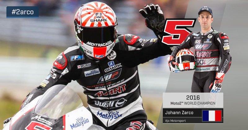 Жоанн Зарко - чемпион мира Moto2 2016