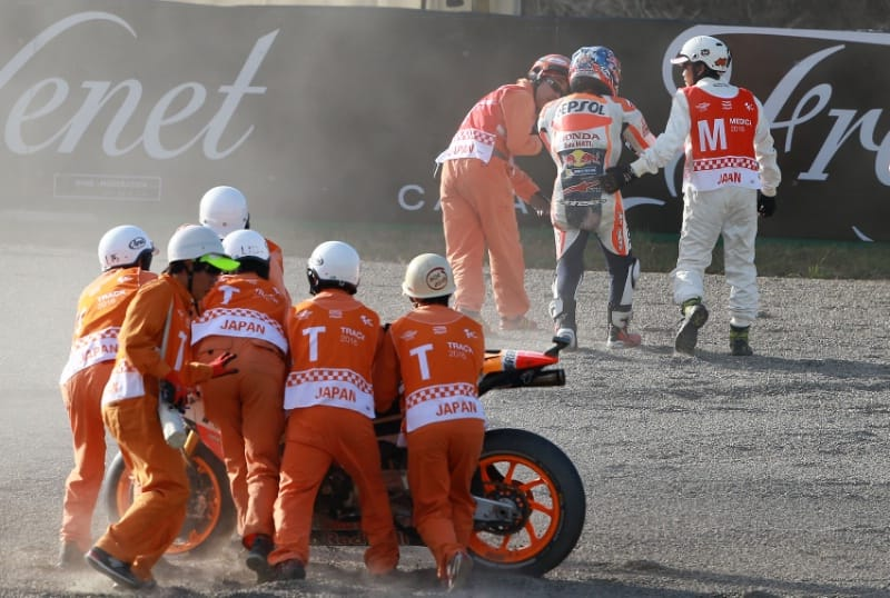MotoGP. Педроса пропустит Гран-при Японии из-за перелома ключицы