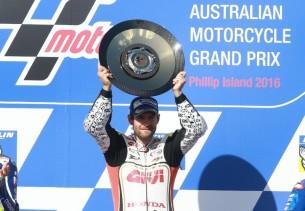 Кэл Крачлоу, победитель Гран-При Австралии 2016