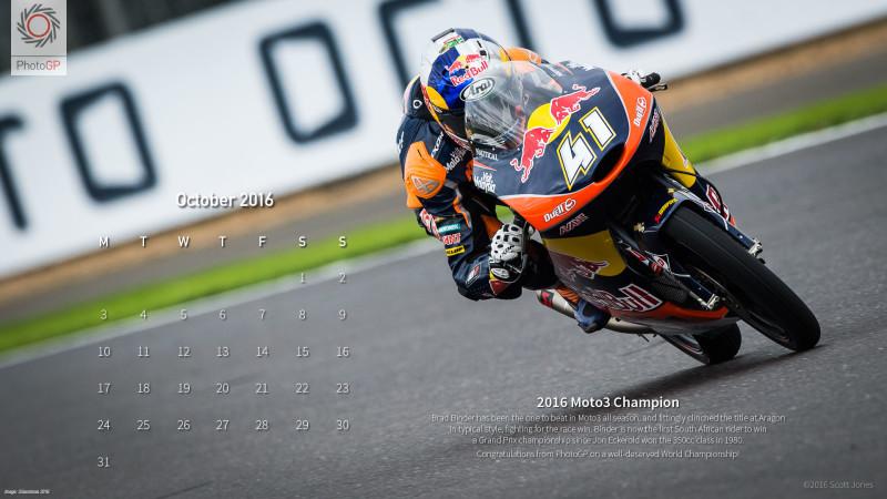 Календарь на октябрь 2016 от Скотта Джонса