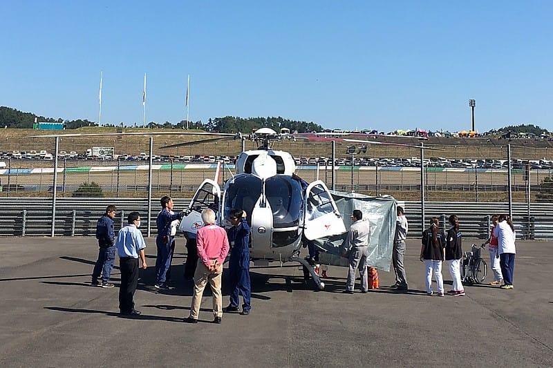 Вертолет, MotoGP