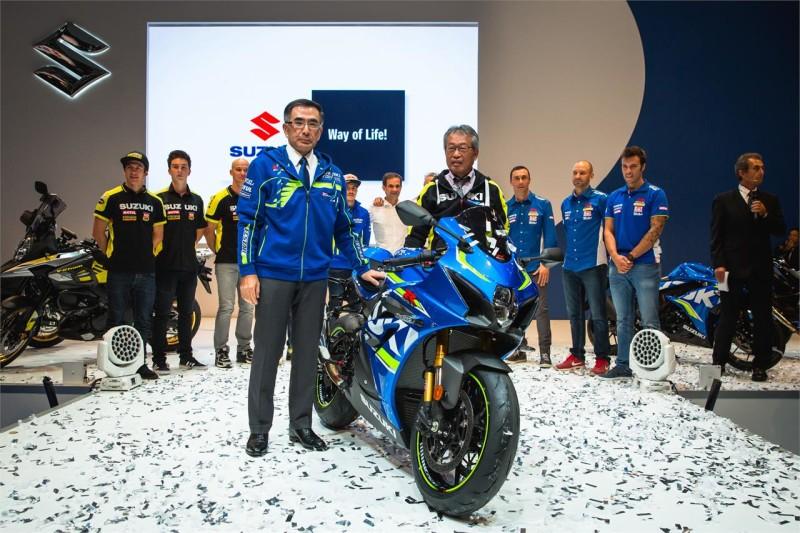 Презентация Suzuki GSX-R1000 (Intermot, 2016)