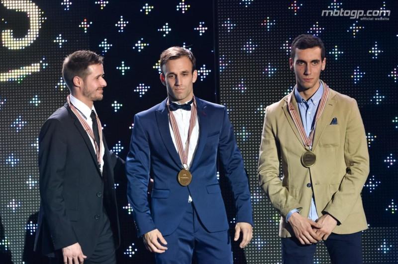 Люти, Зарко, Ринс - призеры чемпионата Moto2 2016 года