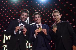 Росси, Маркес, Лоренсо - призеры чемпионата MotoGP 2016 года