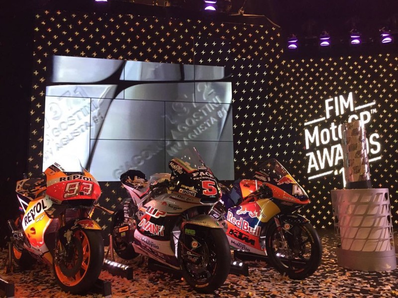 Мотоциклы чемпионов Гран-При сезона 2016