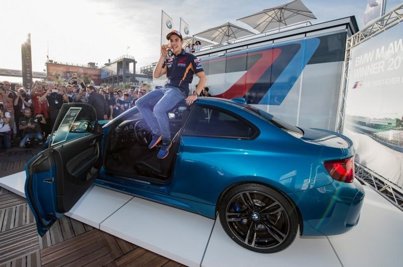 Марк Маркес - квалифайер 2016 года в MotoGP