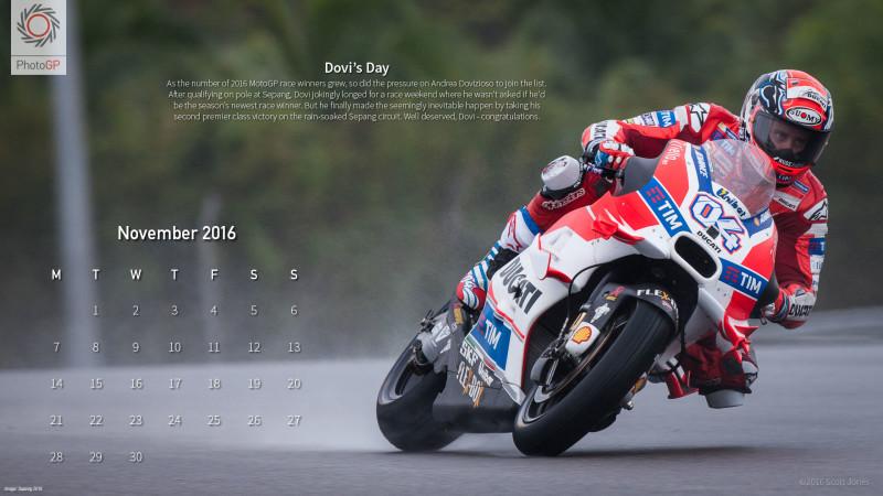 Календарь на ноябрь 2016 от Скотта Джонса