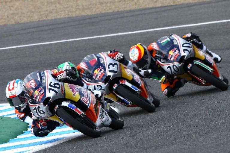Макар Юрченко в чемпионате MotoGP Red Bull Rookies Cup