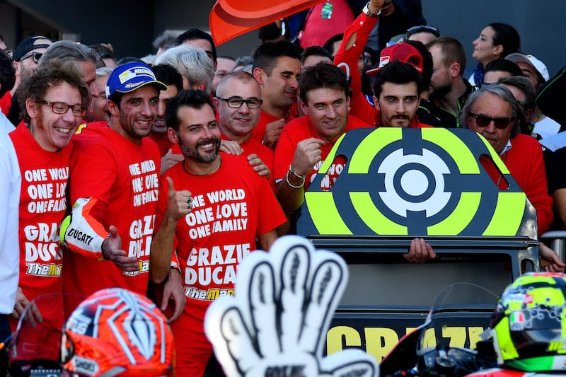 Андреа Ианноне, Ducati
