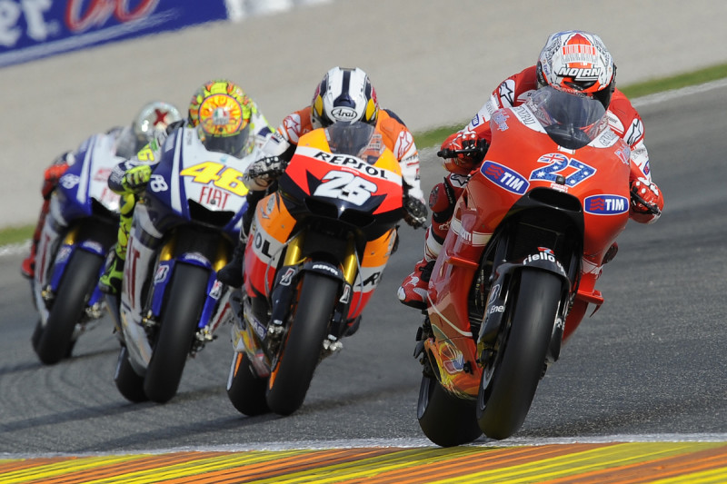 Гонка MotoGP Гран-При Валенсии 2010