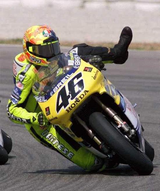 Валентино Росси (Валенсия, 2000)