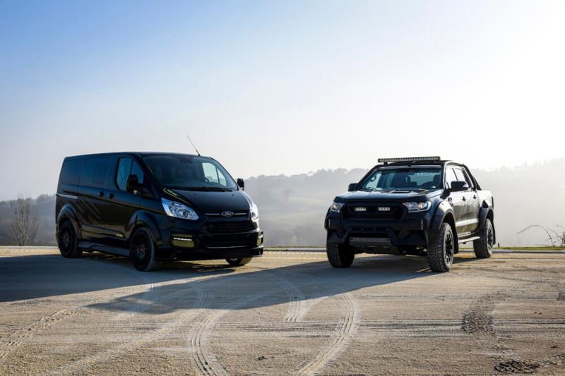 Специальные модели Ford от Валентино Росси