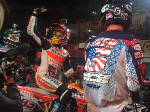 Маркес и Бейкер на Superprestigio 2016